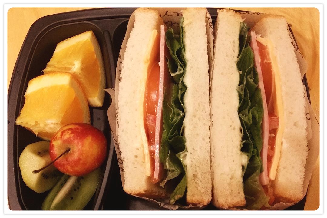 KBS로 납품된 아침 샌드위치