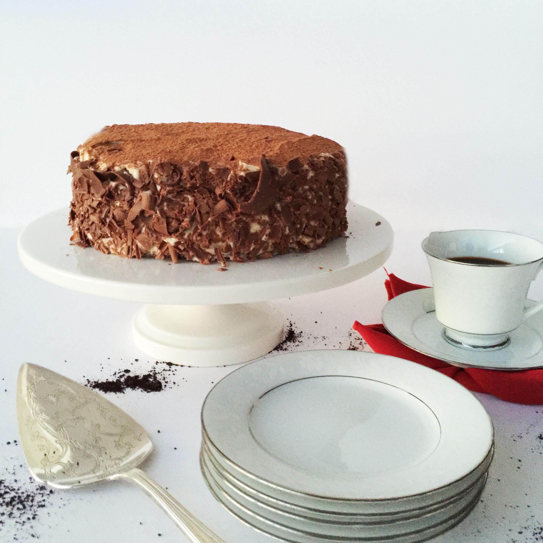 Tiramisu Cake || Birthday Cake || @hauteinparadise