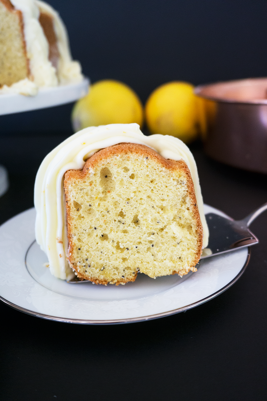 Passion Orange Poppy Seed Bundt Cake || Haute in Paradise || @hauteinparadise