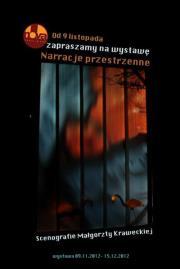Narrative Spaces   Exhibition of selected projects at Nova Resto Bar, Krakow  Nov-Dec 2012
