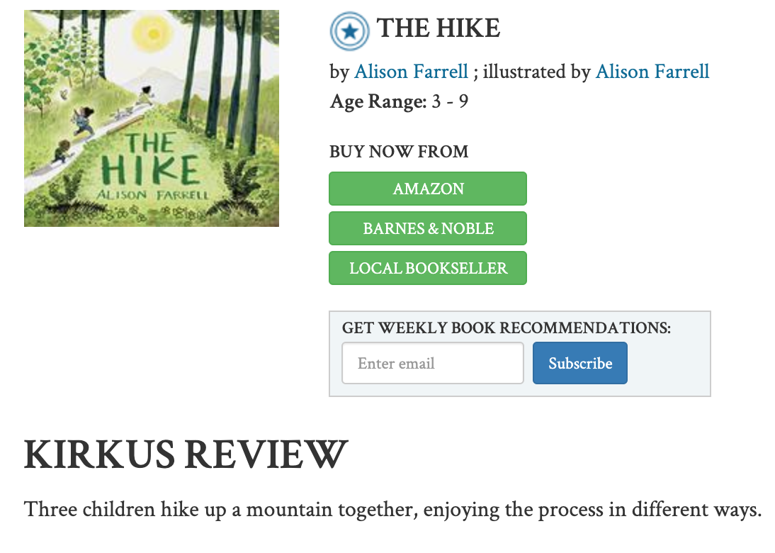 READ THE KIRKUS REVIEW HERE -