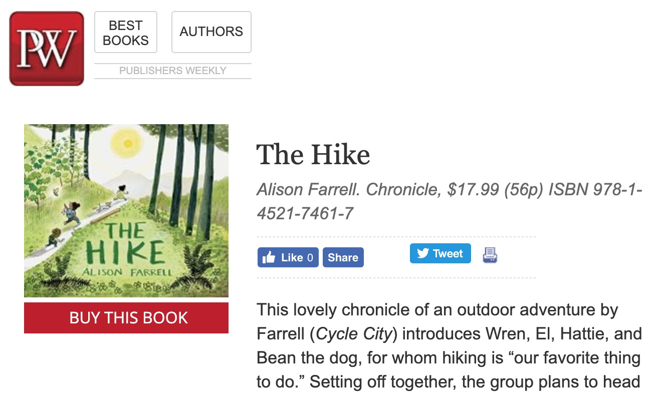 READ THE PUBLISHERS WEEKLY REVIEW HERE -
