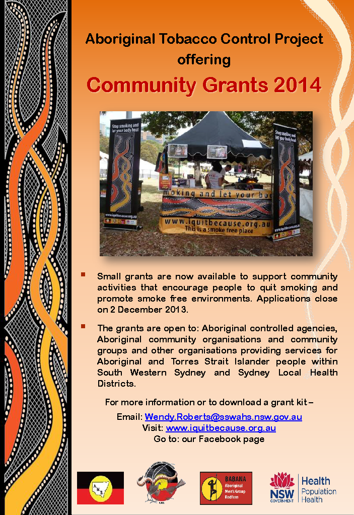 Community Grants Flyer