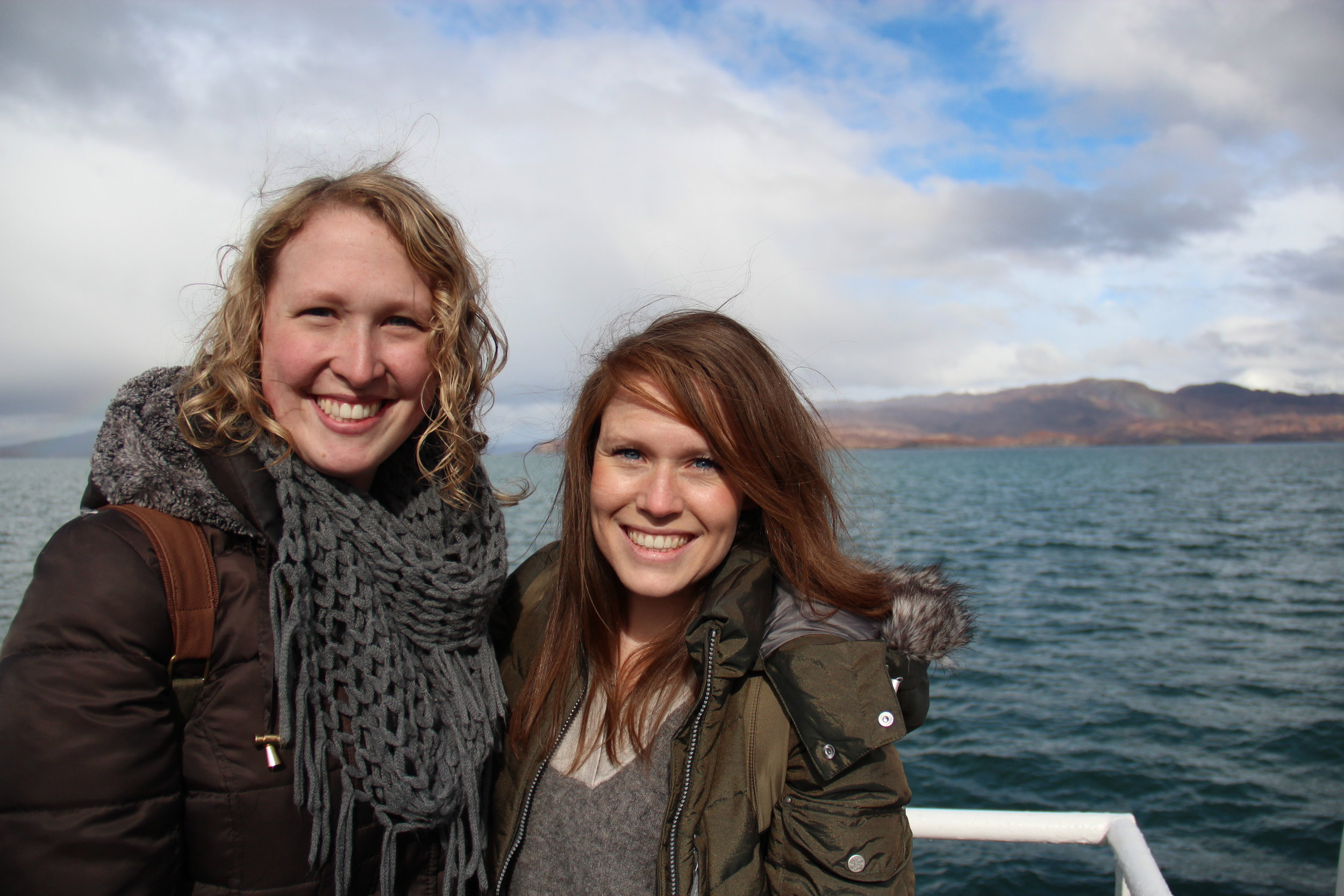 Taking the (unexpected) ferry to the Isle of Skye in the Scottish Highlands.