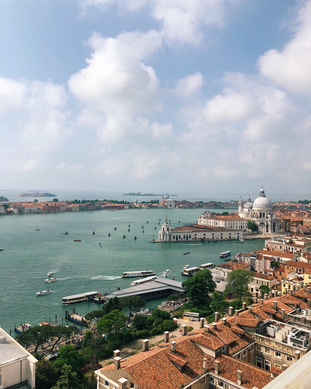 venice st marks bell tower view
