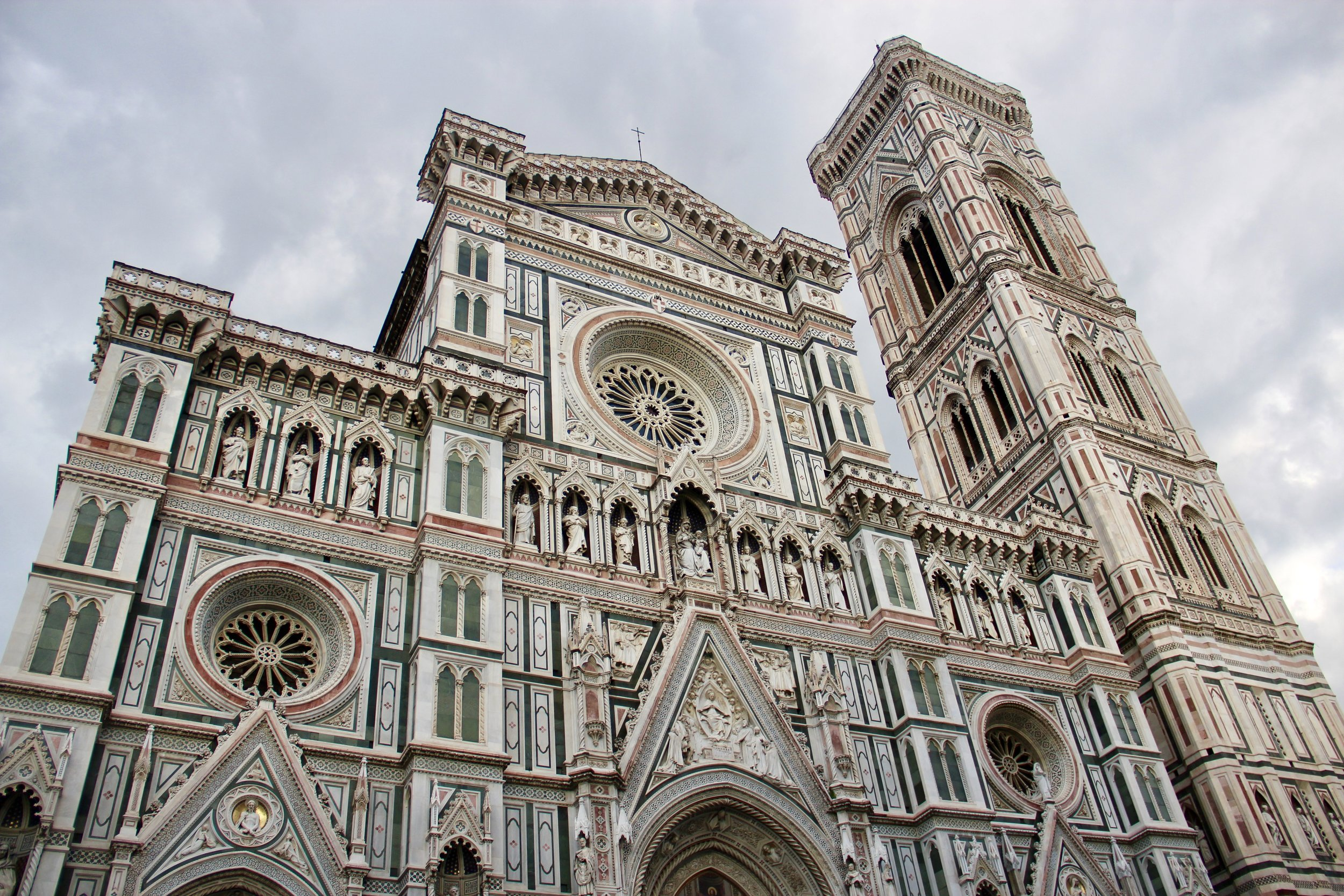 The Duomo's ornate cathedral.