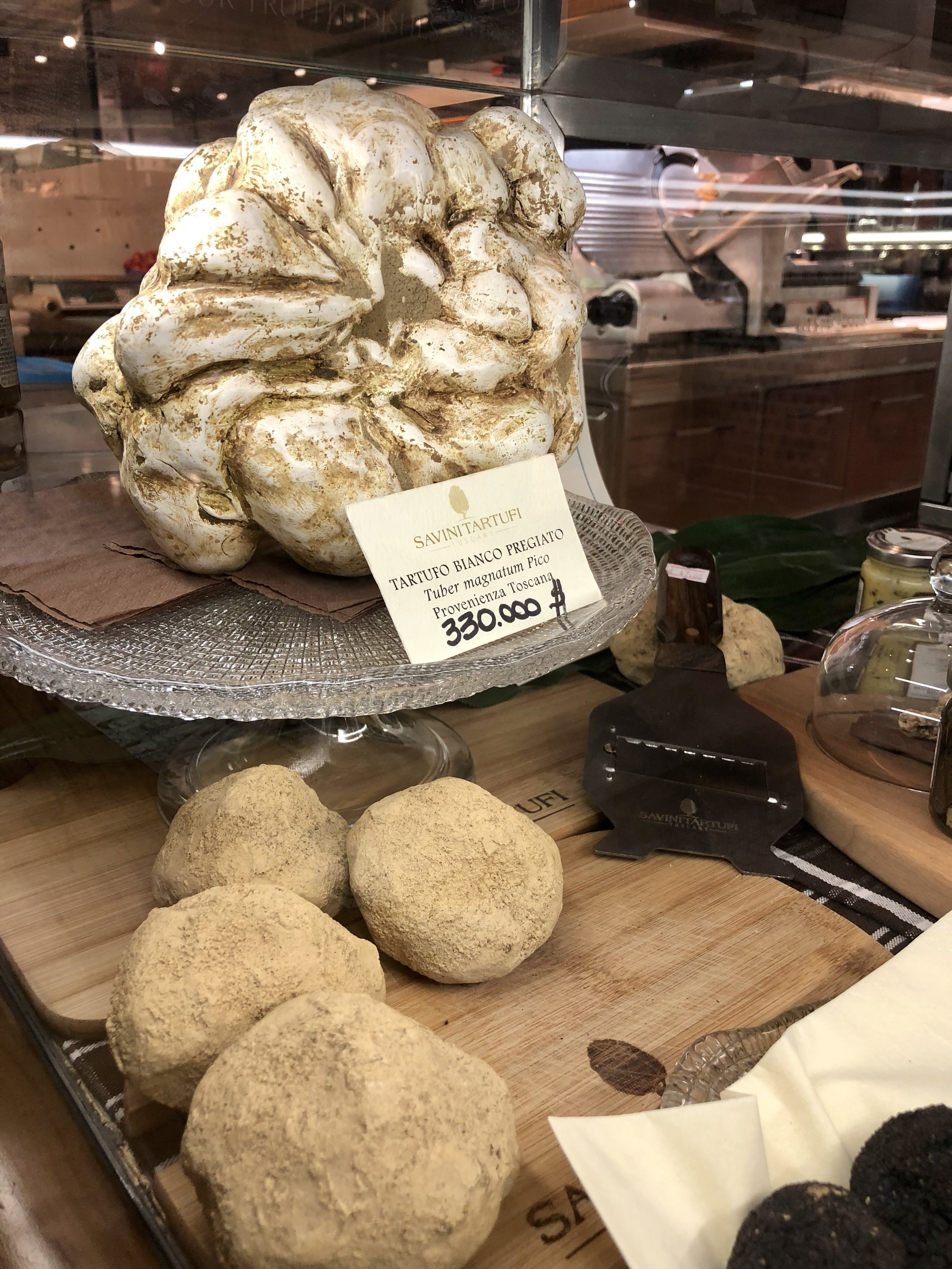 Truffles at the Mercato Centrale