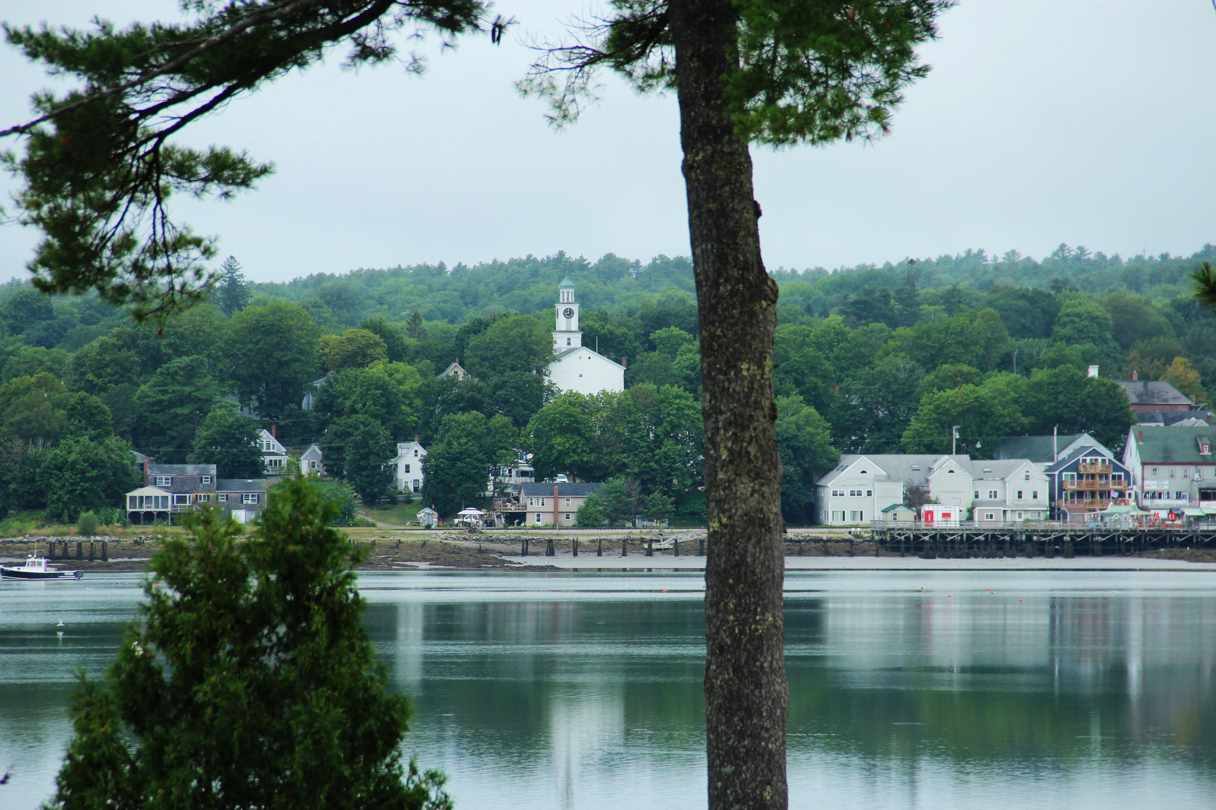 Cottage views in Wiscasset