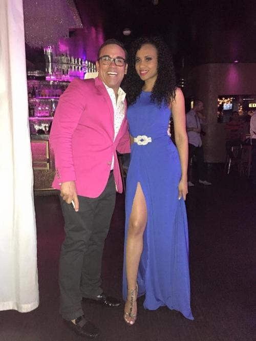 Jorge Alvarado, host of  The Jorge Show and I at the Fashion Show