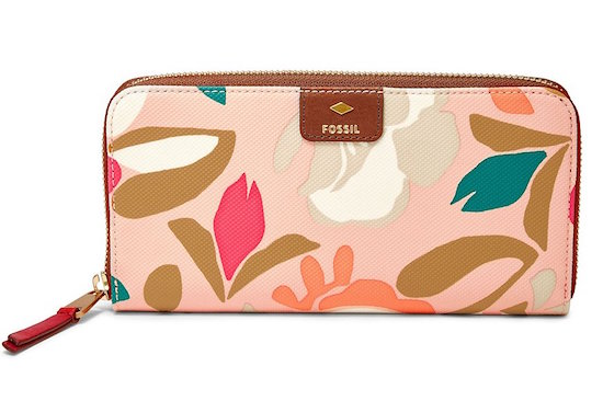 Mom will love this fabulous  Fossil Mother´s Day Floral Large Shopper Tote  and  Zip Clutch Wallet . This set is perfect for the spring and summer seasons. The tote is large enough to fit all of her essentials and it offers plenty of storage compartments. The wallet can be purchased separately or you can go all out and purchase the set together. Right now both items are 25% off at Dillard's!
