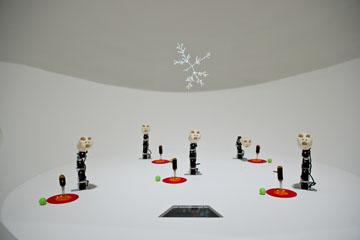 Ergo-Robots: curiosité artificielle et langage  Mathématiques, un dépaysement soudain  Fondation Cartier pour l'art contemporain, Paris. Photo Olivier Ouadah