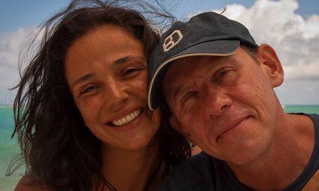 Ricardo Semler with his wife Fernanda Photograph: Coen Wubbels