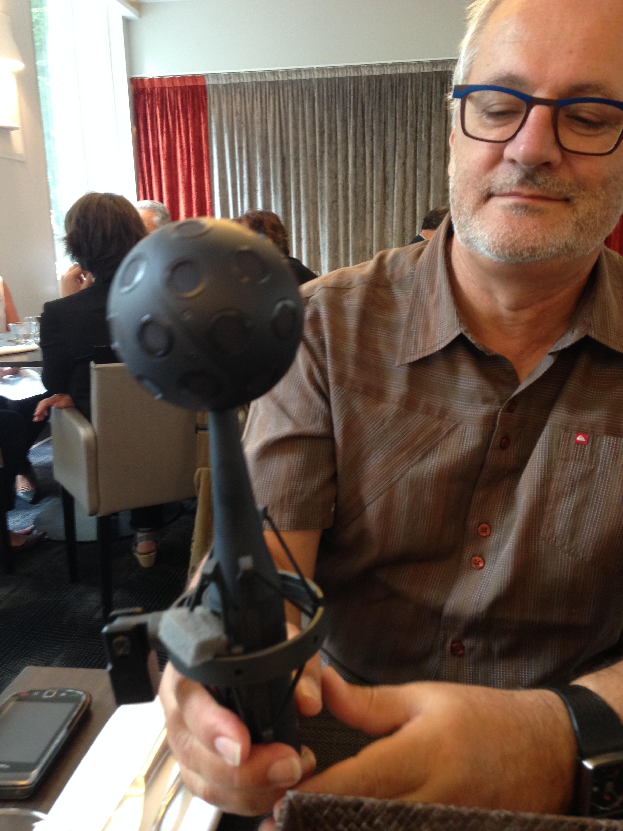 Jean-Yves Aubié, Responsable du laboratoire nouveaux formats médias de l'IRT b<>com