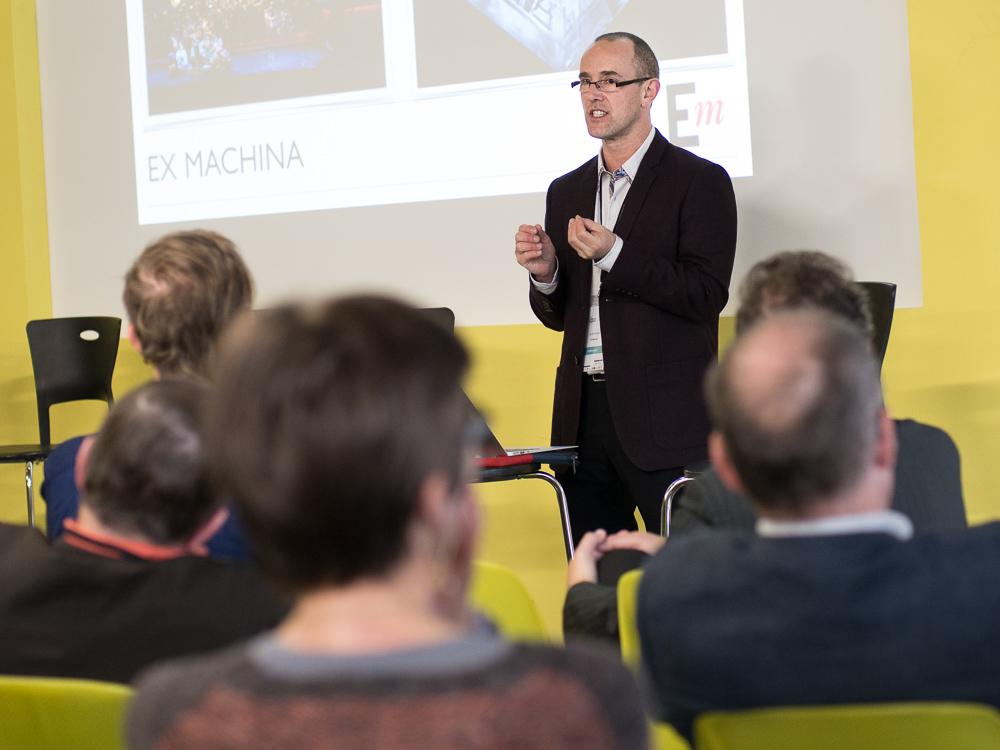 Dali Berthiaume, directeur des projets spéciaux Ex MACHIINA.