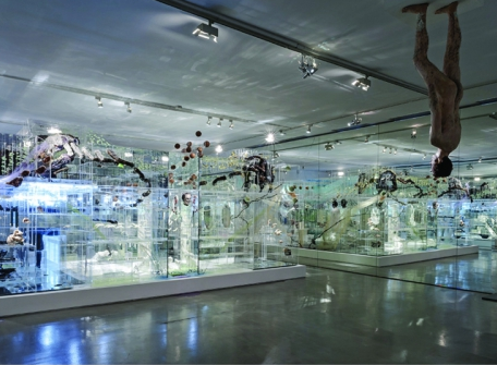 VISITE VIRTUELLE 360 degrés   Exposition  FLUX  , David ALTMEJD