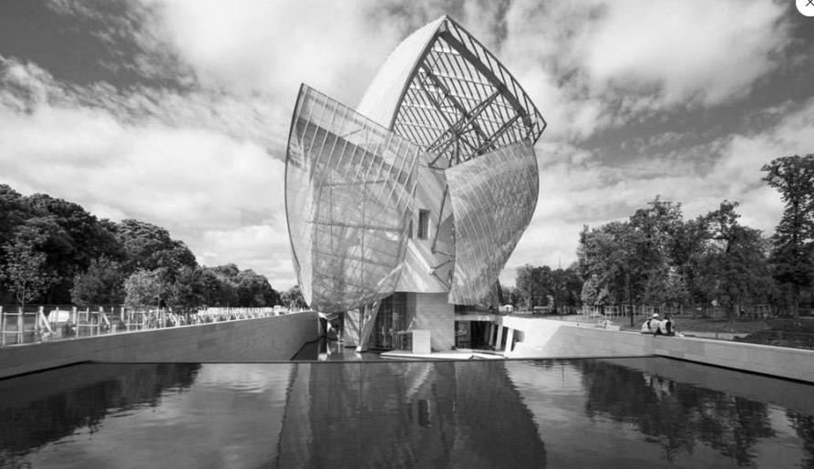 L'impressionant vaisseau imaginé par Frank Gehry pour la Fondation Louis vuitton