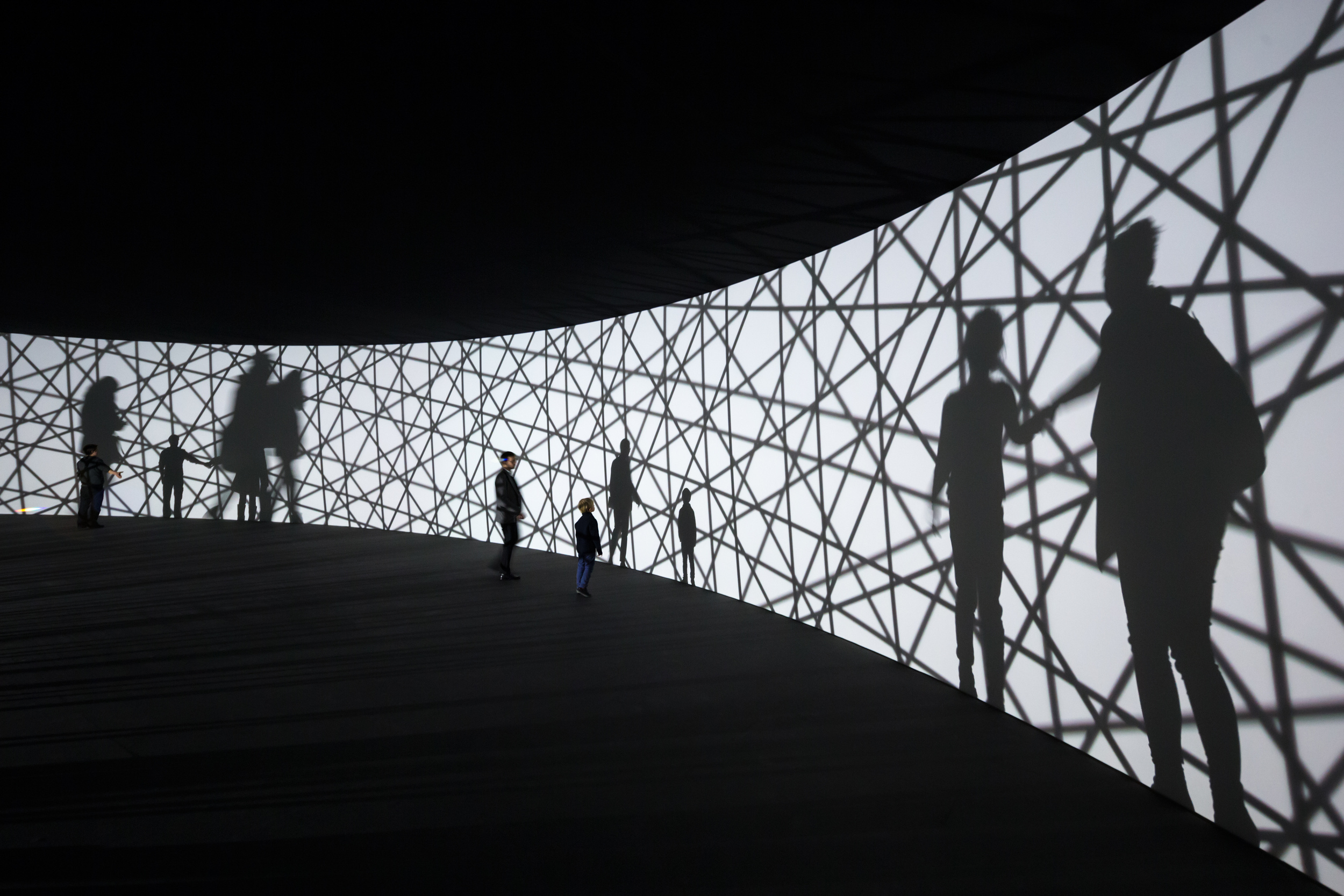 Olafur Eliasson,Map for unthought thoughts,Photo Iwan Baan