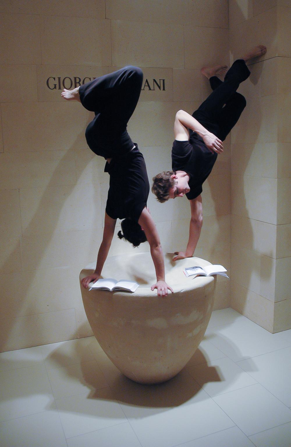 les ateliers de créativité de sylvie gendreau, lancement de l'école des désirs2004© photo pierre guité