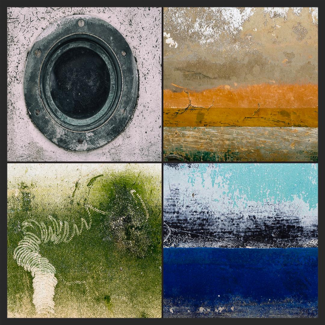 Photos de coques de bateaux, Pierre Guité. Téléguidez votre cerveau par Sylvie Gendreau, Votre laboratoire créatif.