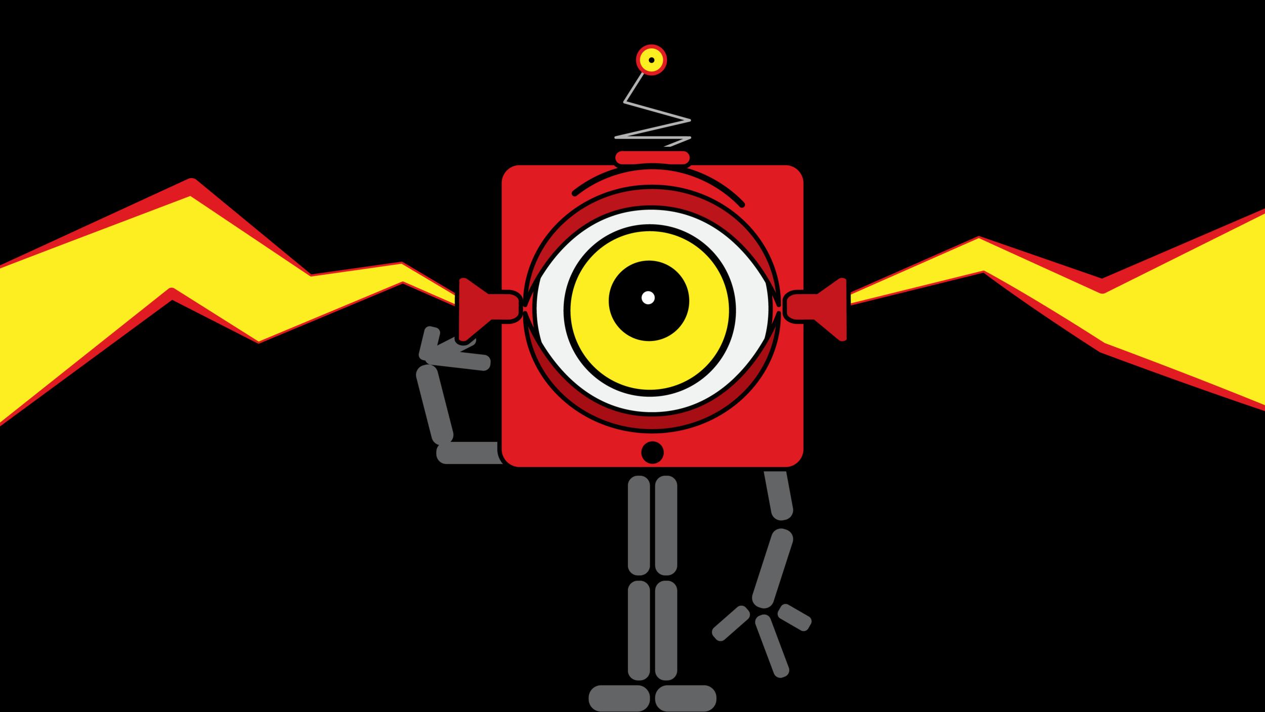 Dessin : Pierre Guité.  Les robots qui lisent votre douleur  par Sylvie Gendreau, Votre laboratoire créatif.