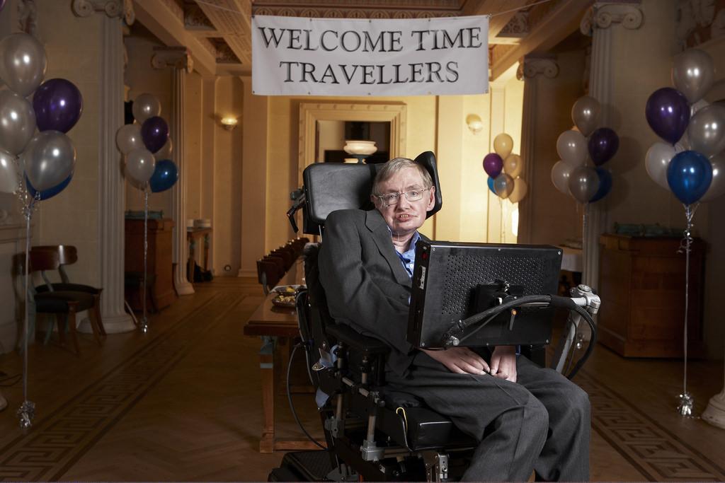 Stephen Hawking au Gonville & Caius College, Cambridge.Lwp Kommunikáció/Flickr, CC BY