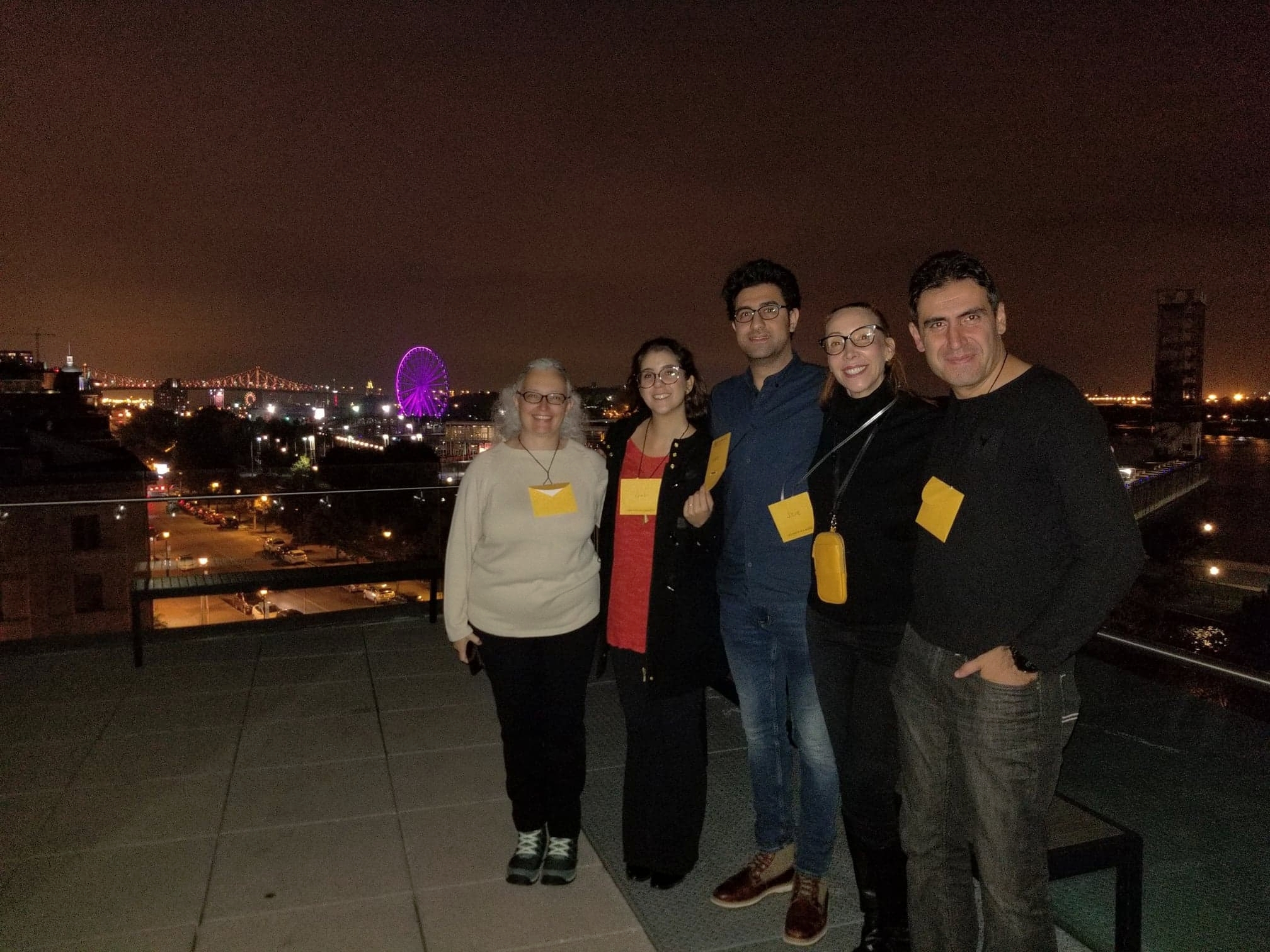 Cintia Blanco, Gabi , Ahmad Maaref et Abe