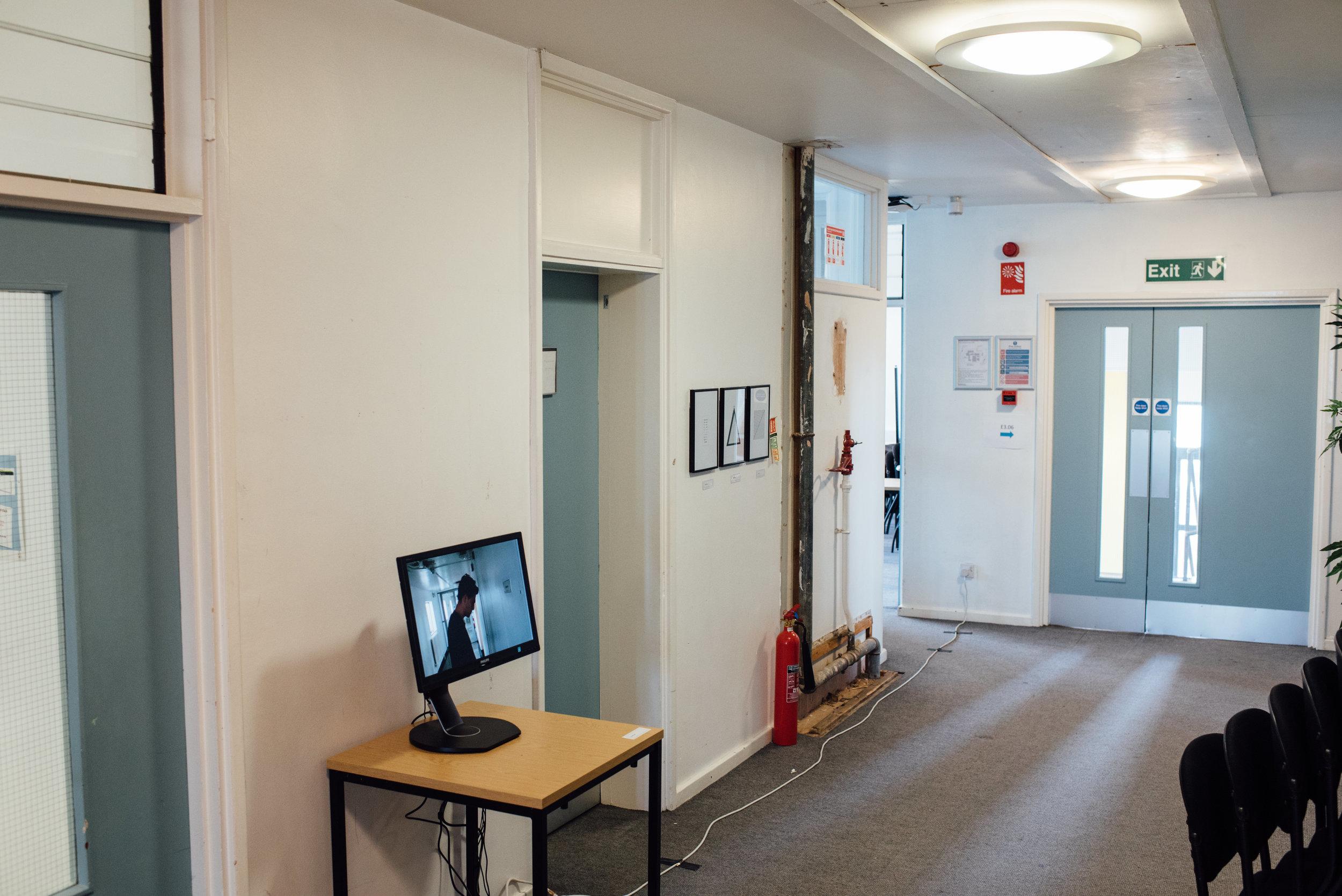 Installation Shot (1) - Corridor