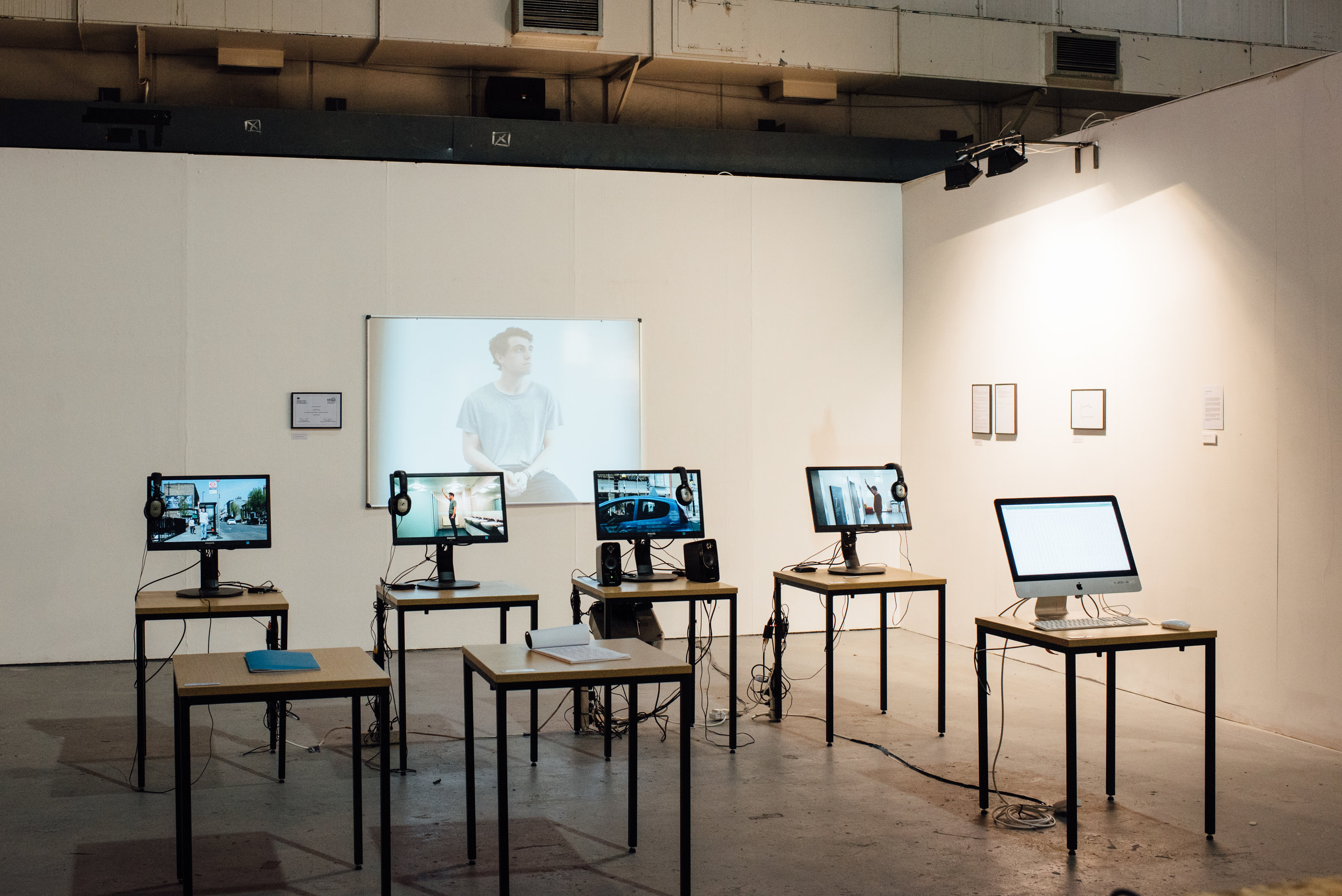 Hard work pays off as shown at Ambika P3 as part of Collide 2018 (Contemporary Media Practice degree show)