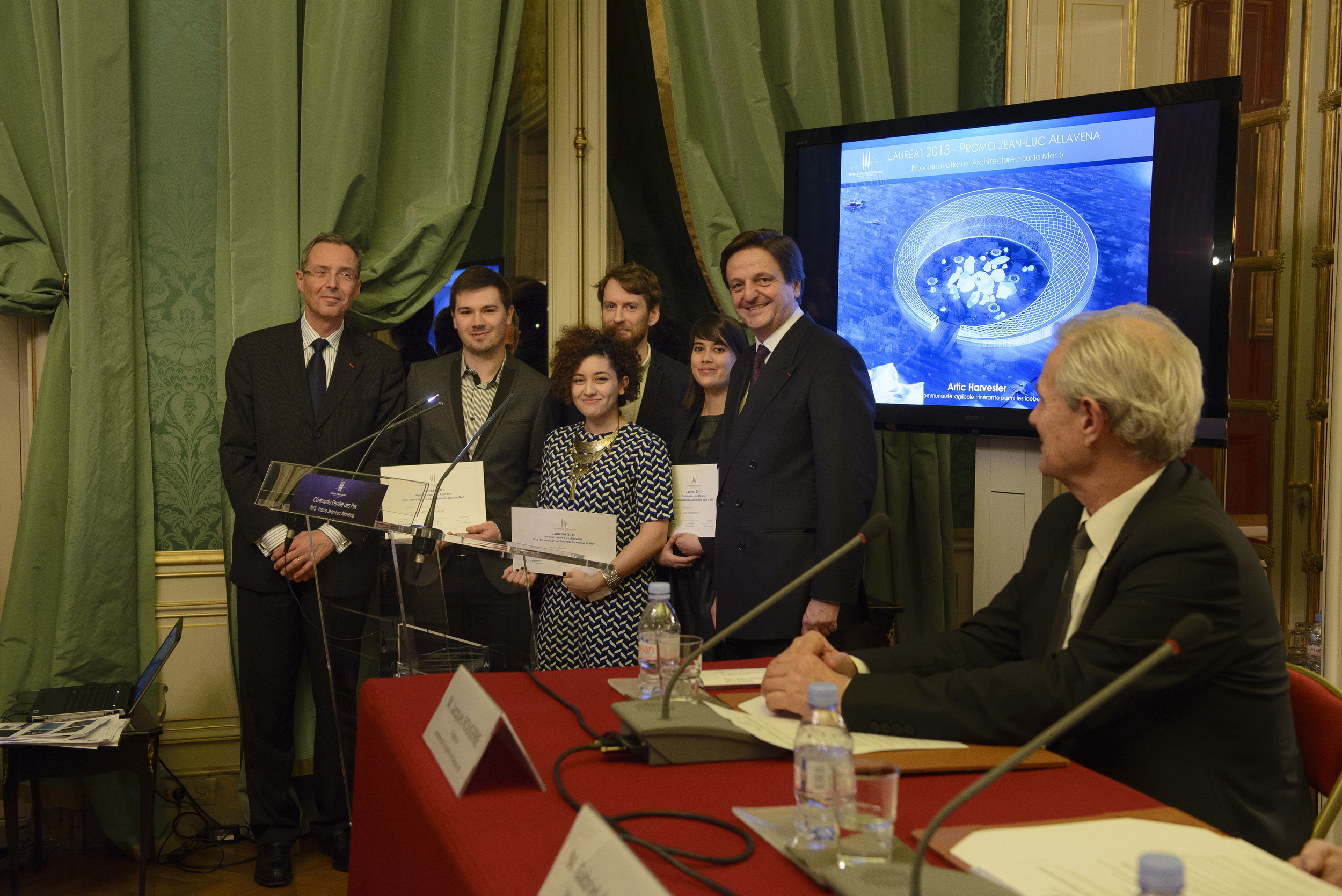2013 Laureates - Innovation and Architecture for the Sea