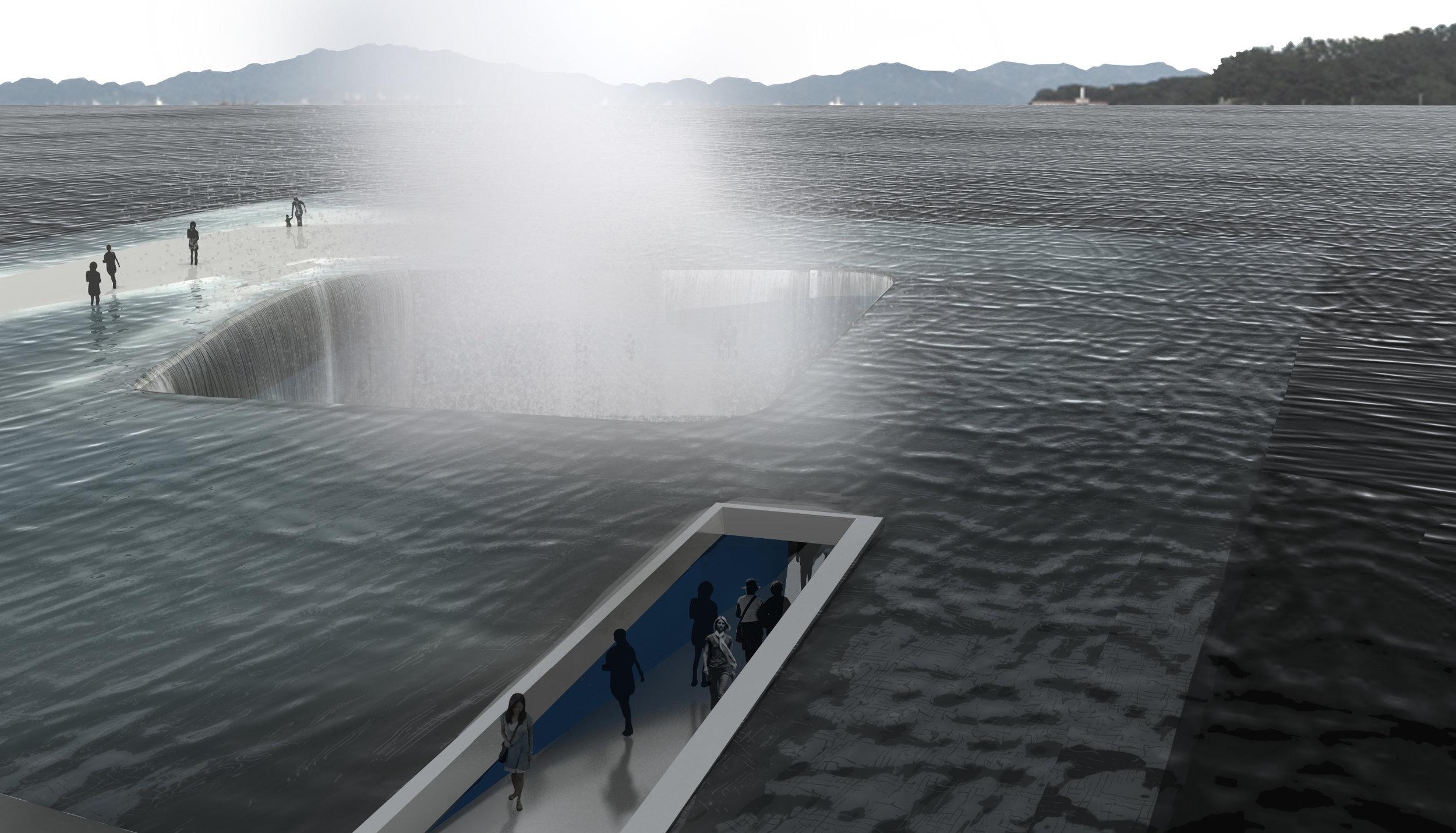 ©Daniel Vale - Water Pavilion: Walk towards the ocean