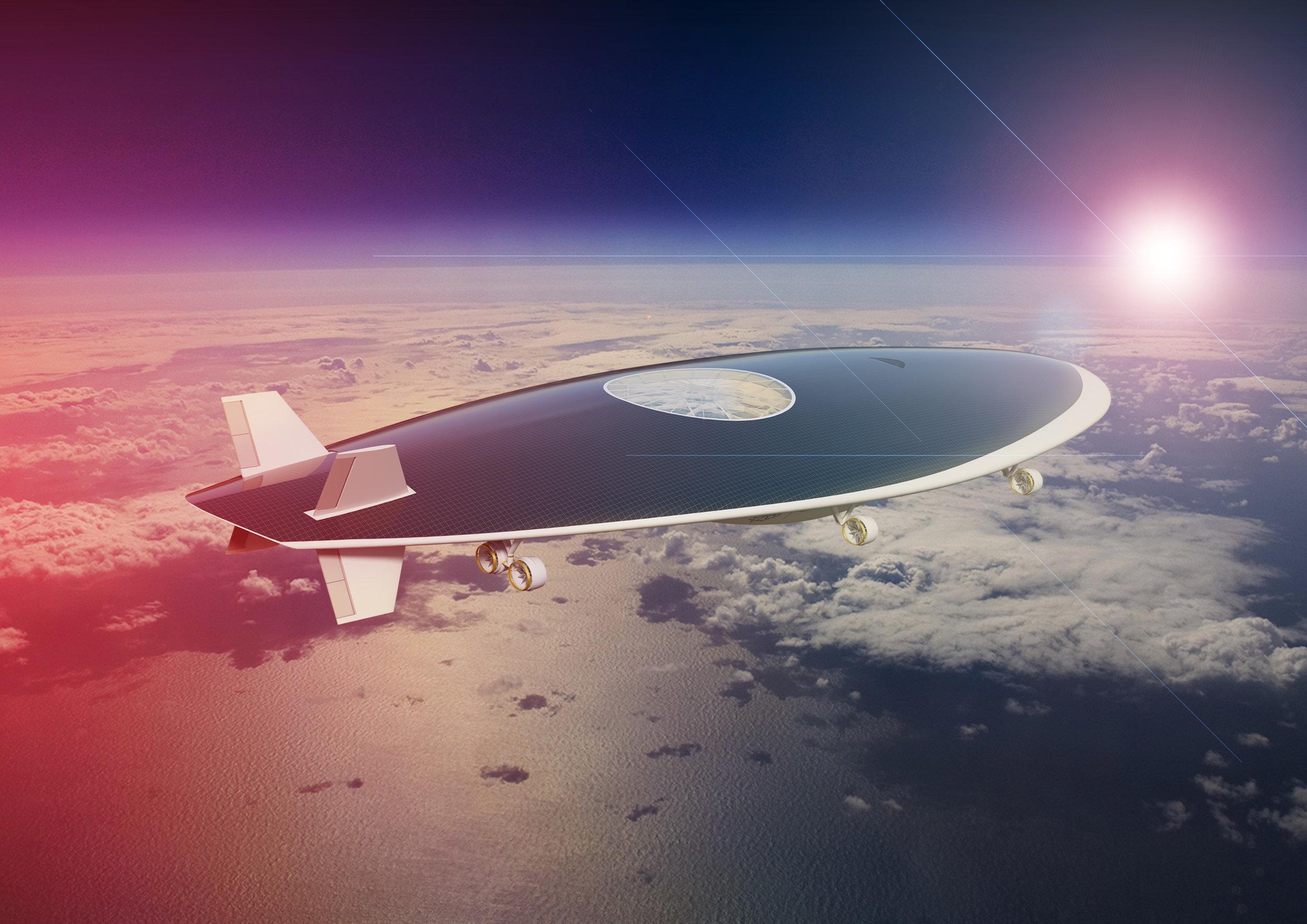 © Green Solar Airship - Jean-March Schivo, Lucilla Revelli, Gérard Feldzer