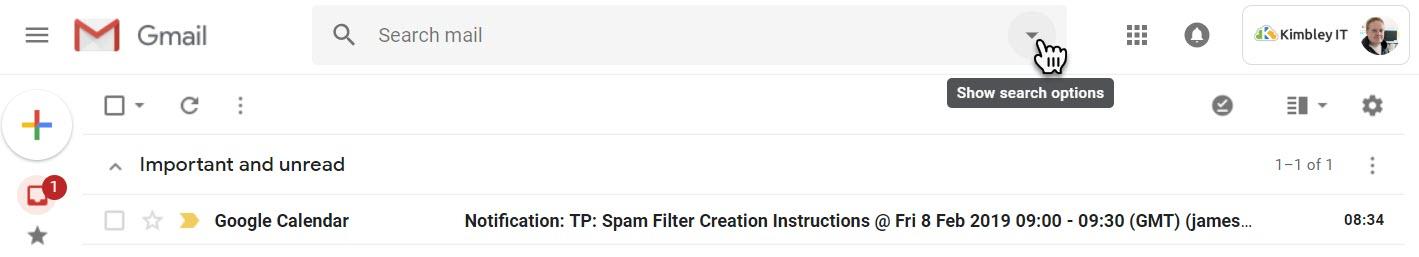 Step 1 - Gmail - Setup Never Send To Spam Filter.jpg