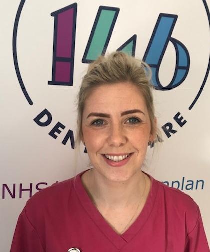 Louise Traynor, Senior Dental Nurse GDC Number 164941 -