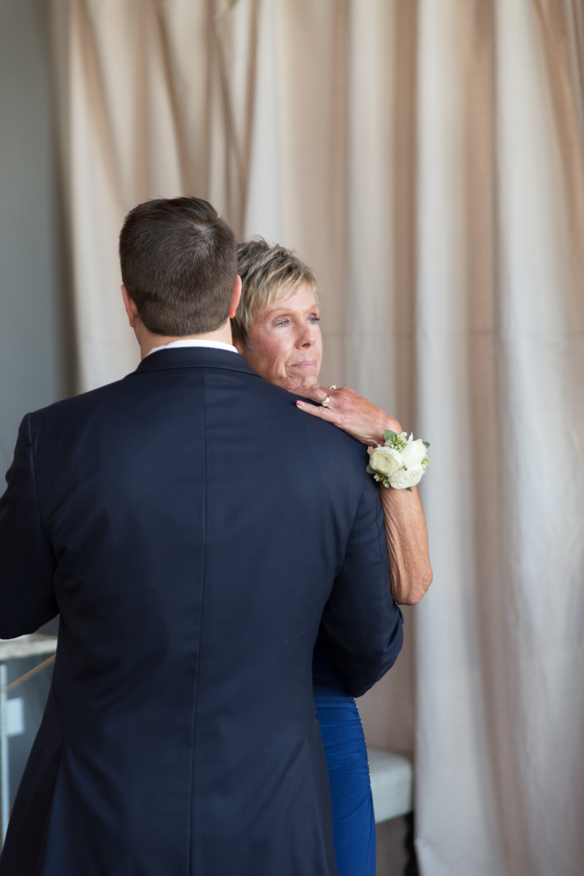 A DANCE WITH MOM. (SO PROUD...)