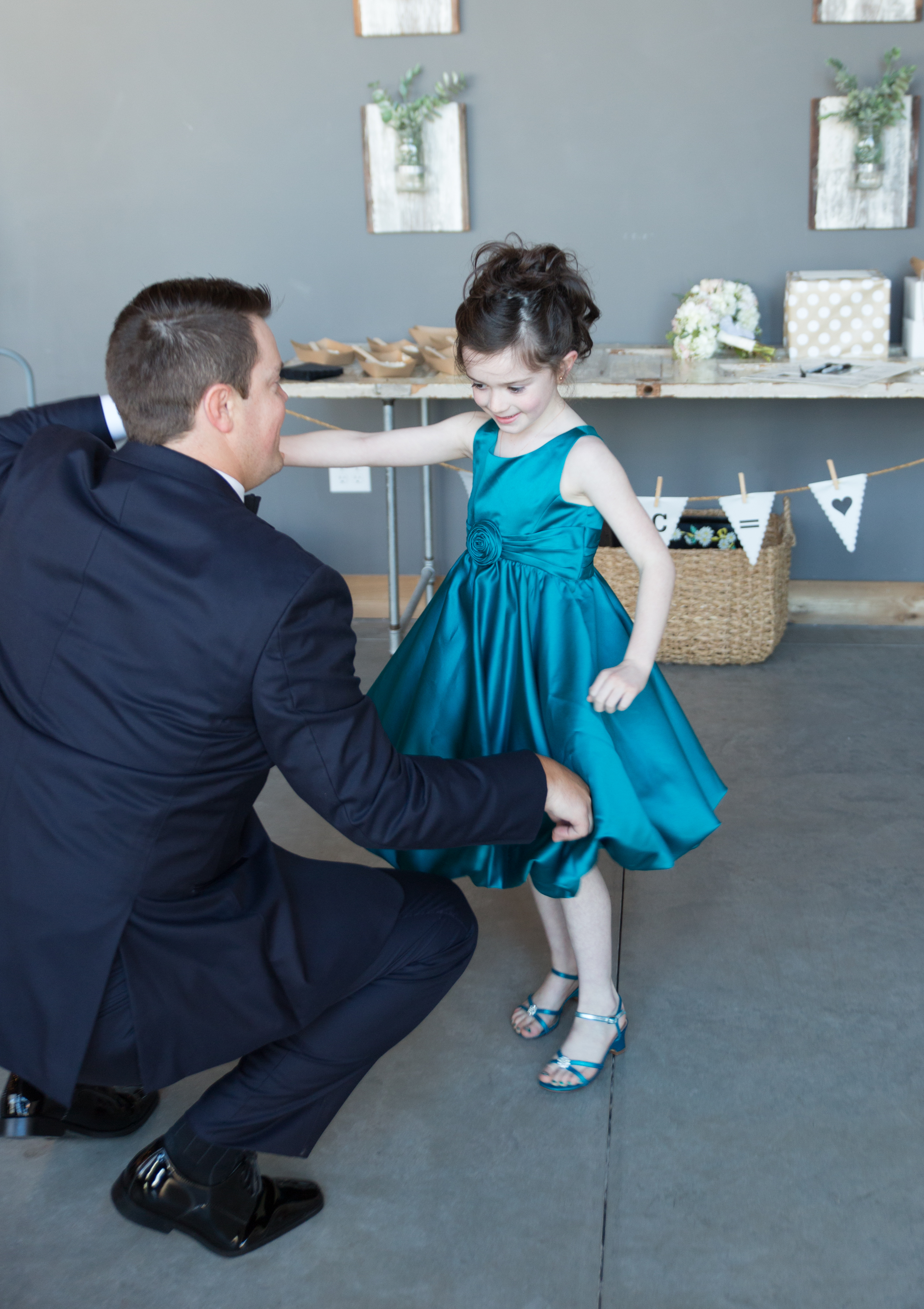 AND OF COURSE, A DANCE WITH DAUGHTER. (SO PROUD!)