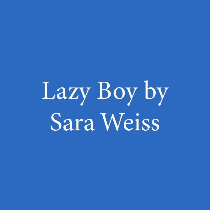 Lazy Boy by Sara Weiss.jpg
