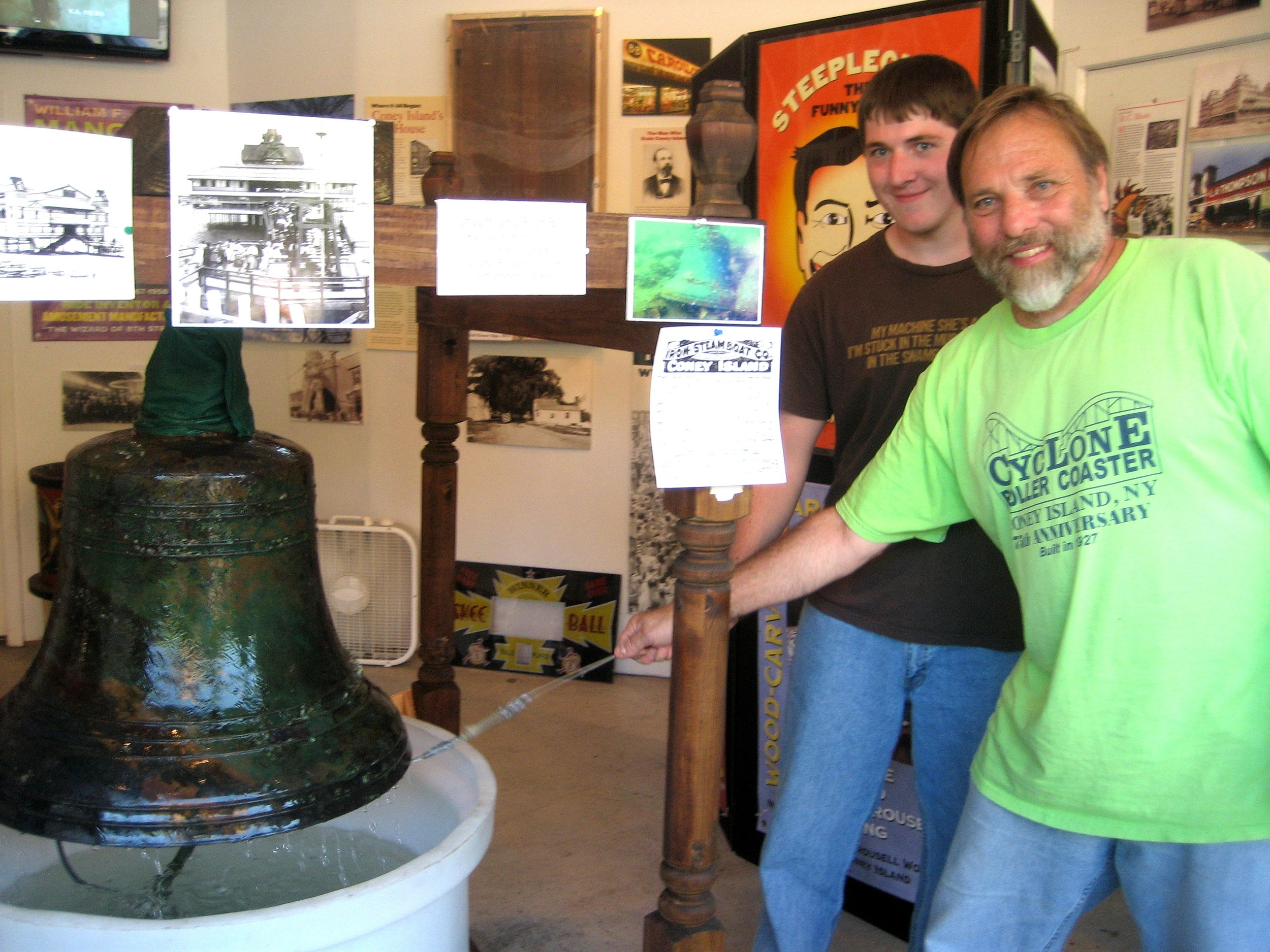 bill-galvin-and-son-ring-the-dreamland-bell.jpg
