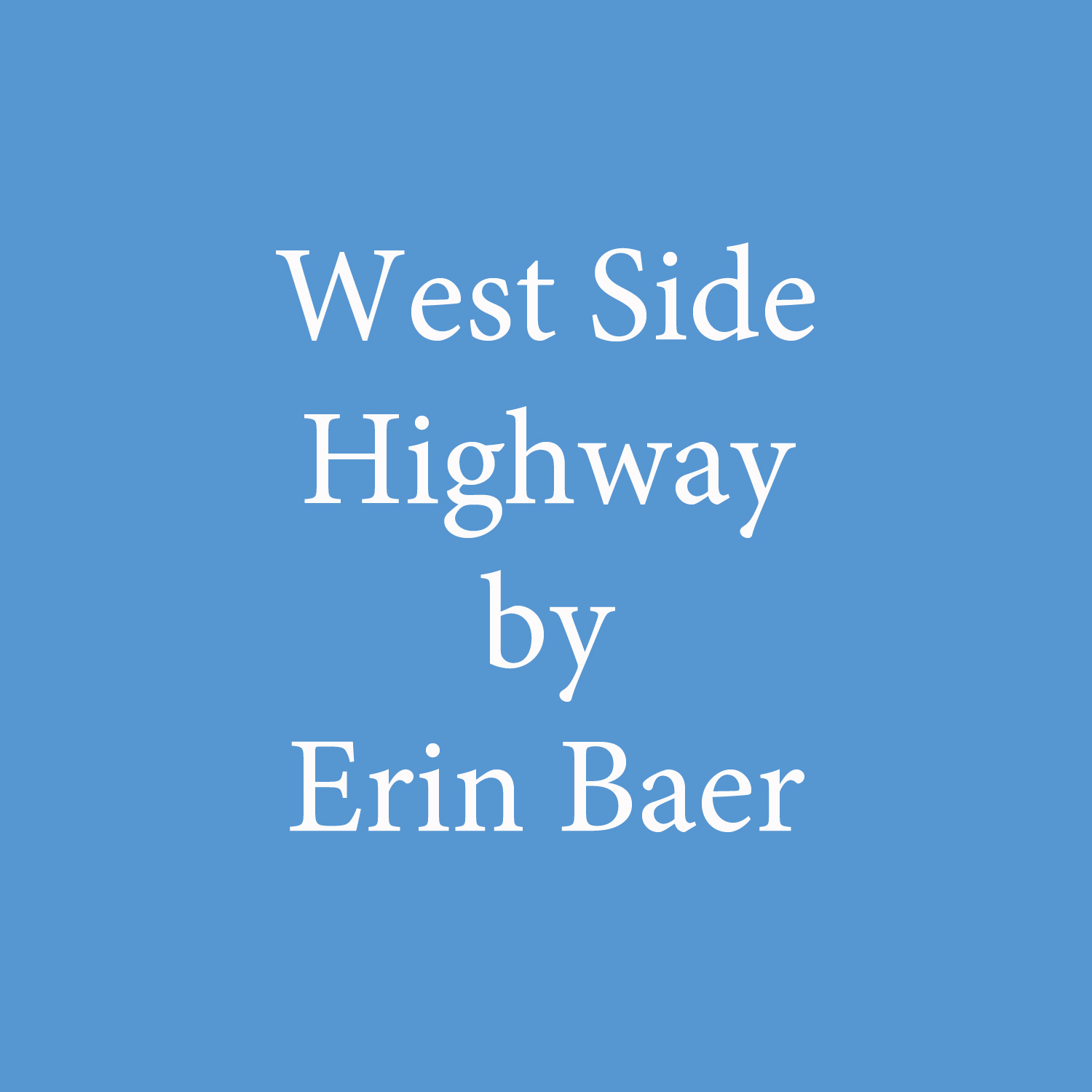 West Side Highway by Erin Baer.jpg