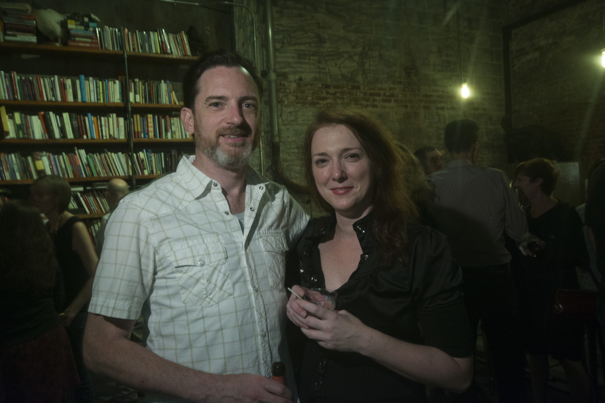 Rich McGowan and Cristina Page