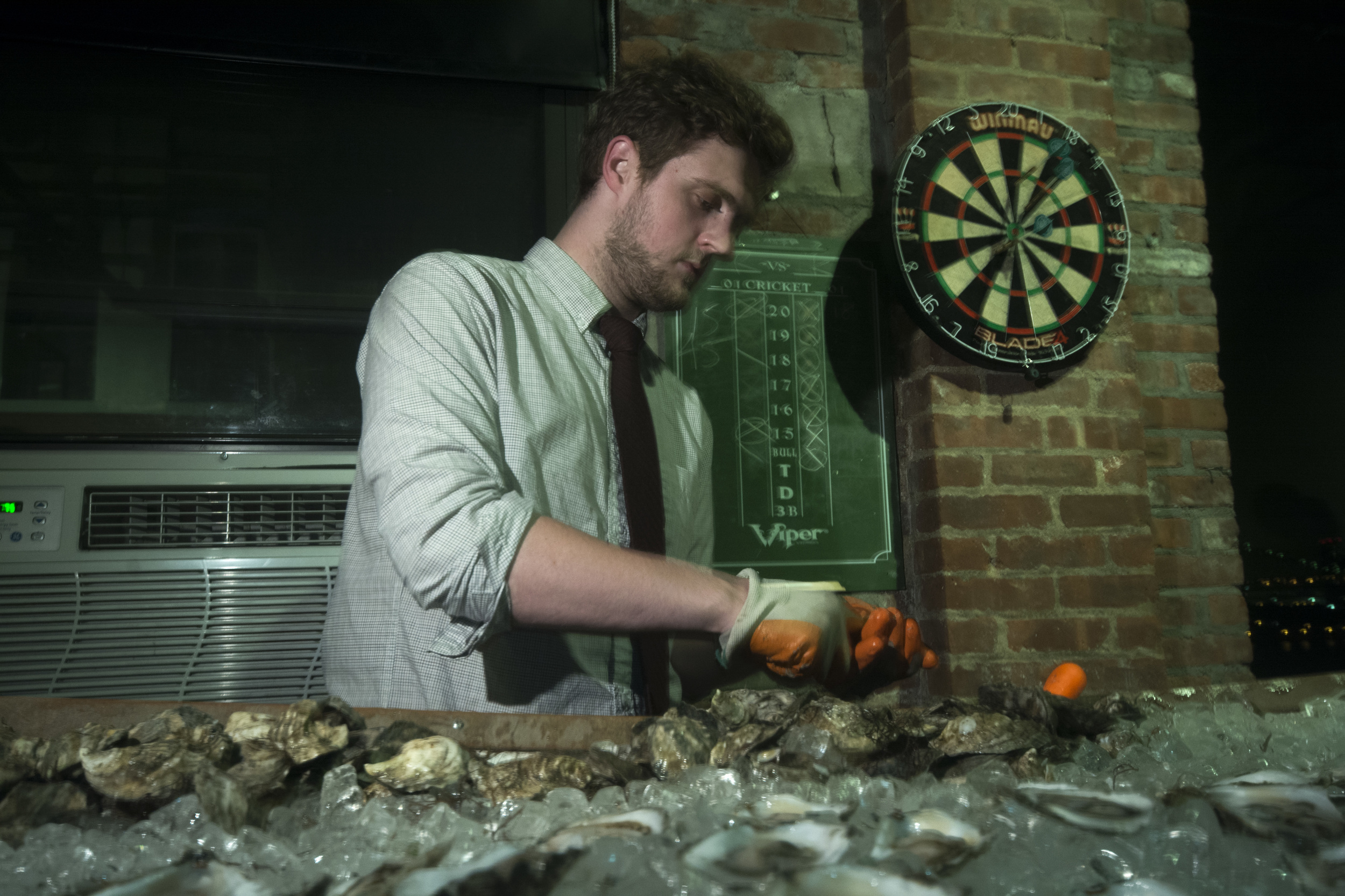 Taylor from Island Creek Oysters