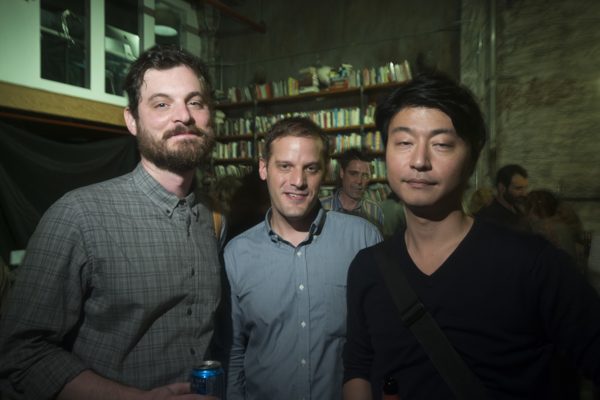 Oliver Sharpe, Josh Leeman and Lawrence Kim