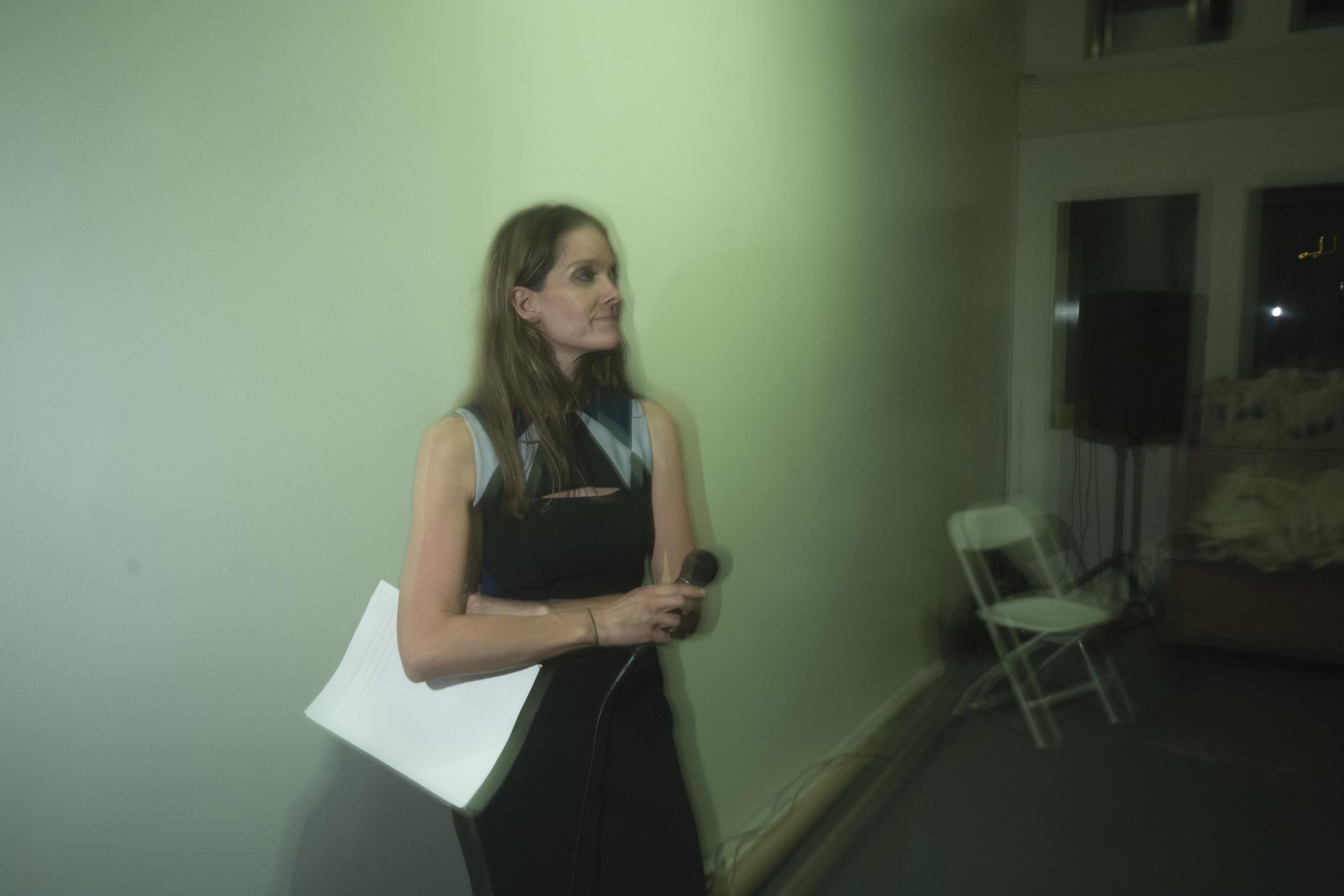 UNY founding editor Nicki Pombier Berger