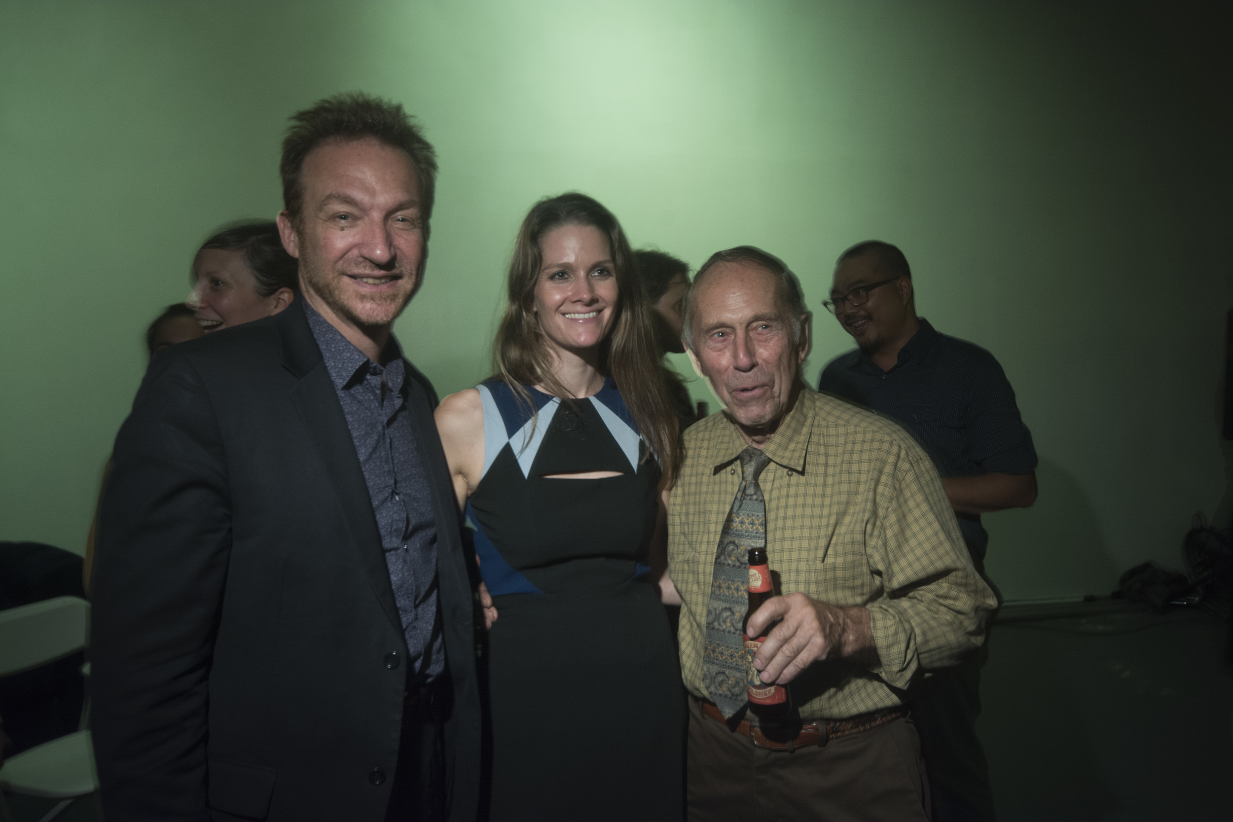UNY contributing writer Bob Fanuzzi, Nicki Pombier Berger and Ed Fanuzzi