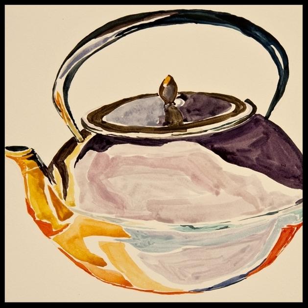 Underwater Teapot by Alexis Neider