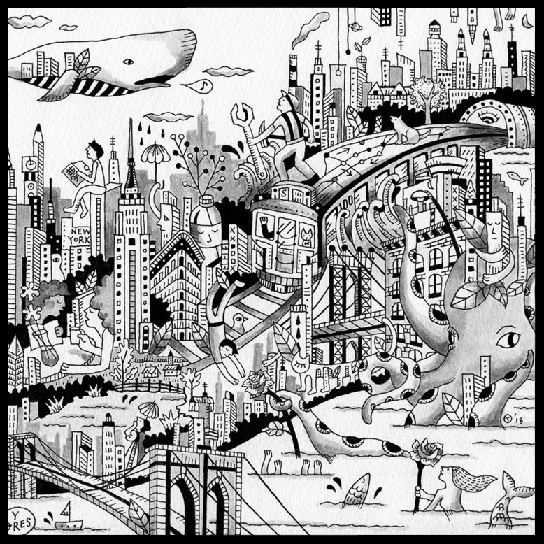 Such Strange Gravity by Tomoyo Hirioshi /  Purpose by Jeff Tang