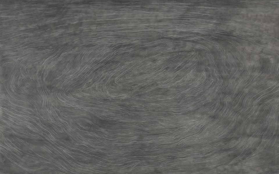 snaefellsjokull 2008 35 x 45 graphite ink dura-lar