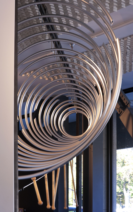 visibility of sound 2012 20 ft x 30 ft x 20 ft  aluminum leonardo museum  salt lake city utah