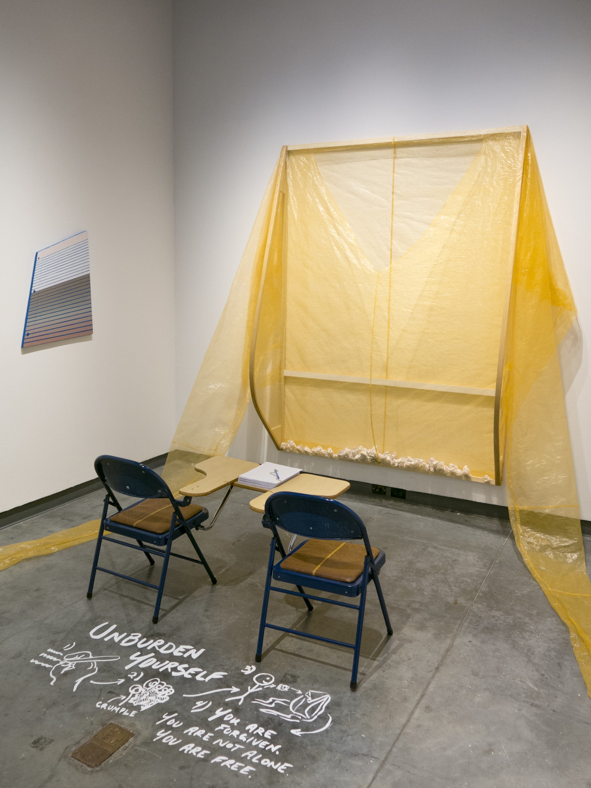 Hopes & Dreams / Fears & Feels - Participatory installation and solo exhibition at Delaware Contemporary's Draper Experiment project space. 2019.
