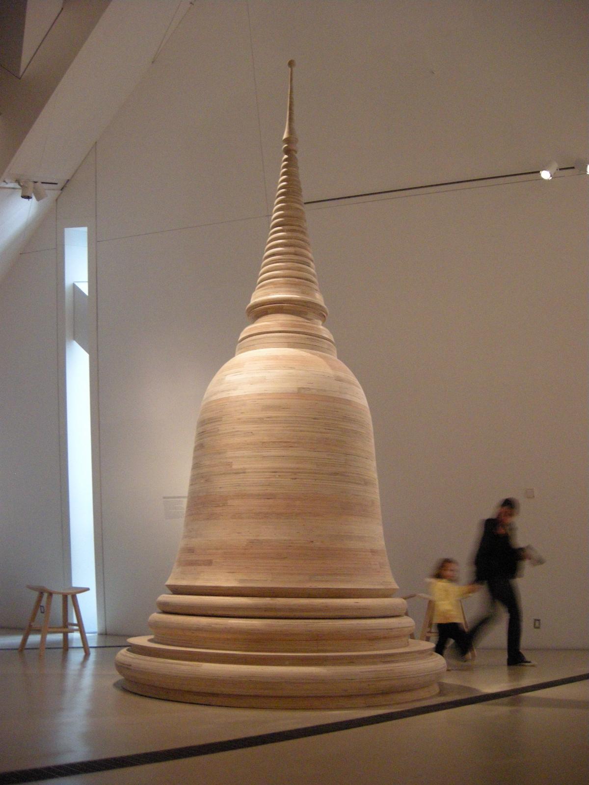 023 - stupa for observance and memorial exhibit.JPG