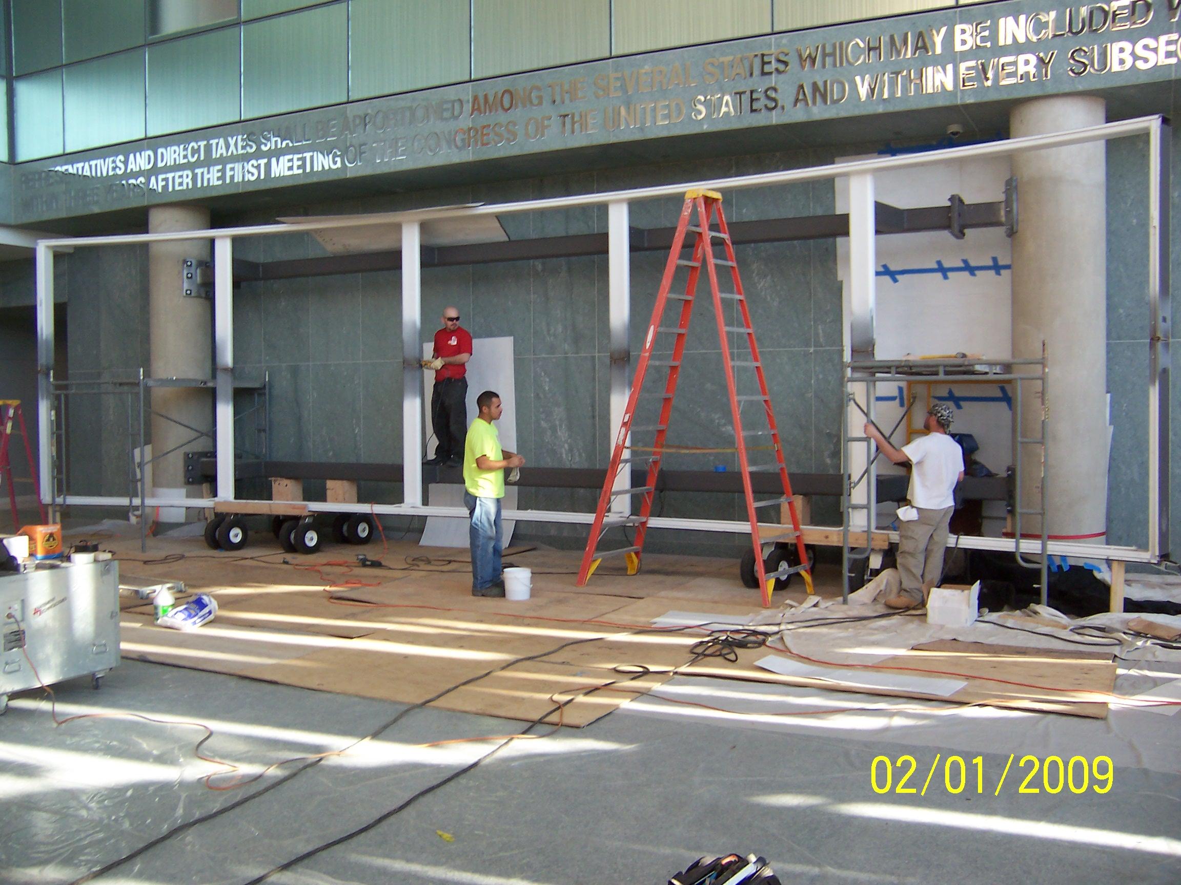 Structural Engineer - Rockey Structures  Artist - Jason Salavon  Maryland Art Installation